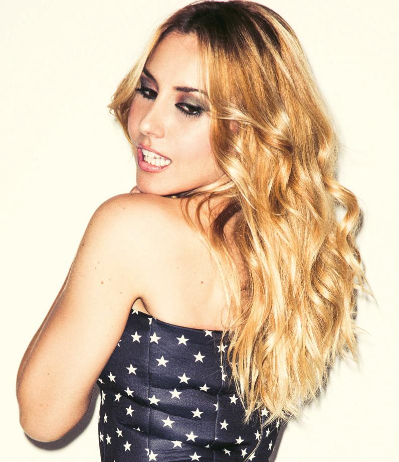 Maquillaje realizado para la presentadora Berta Collado en la Revista Mine.