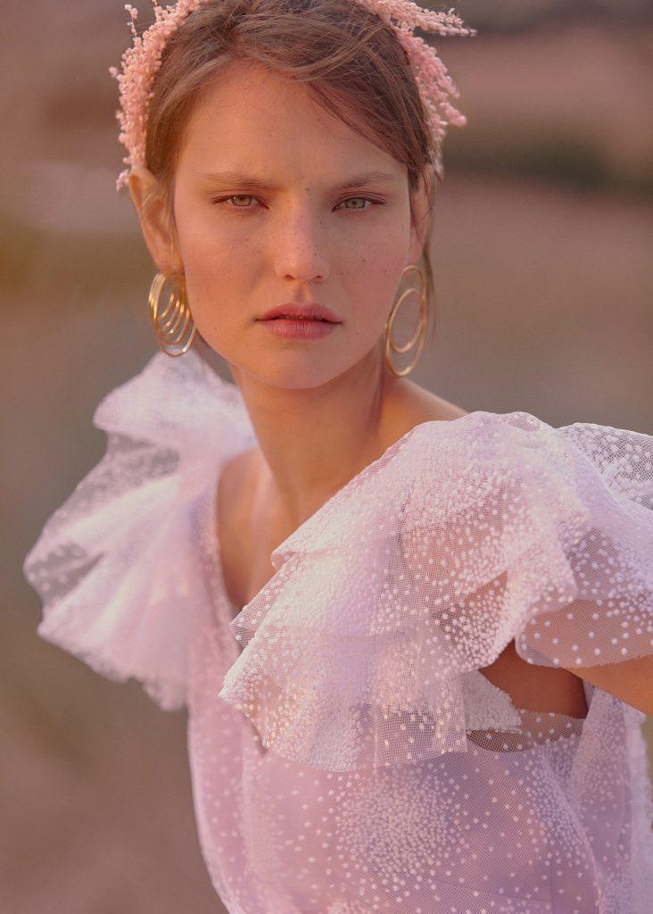 Maquillaje realizado para la campaña Blooming Preface de Beba´s Closet.
